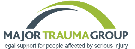 The logo for Major Trauma Group - providing legal support for people affected by serious injury